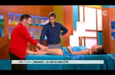 émission TV Allô docteur - Les Massages -